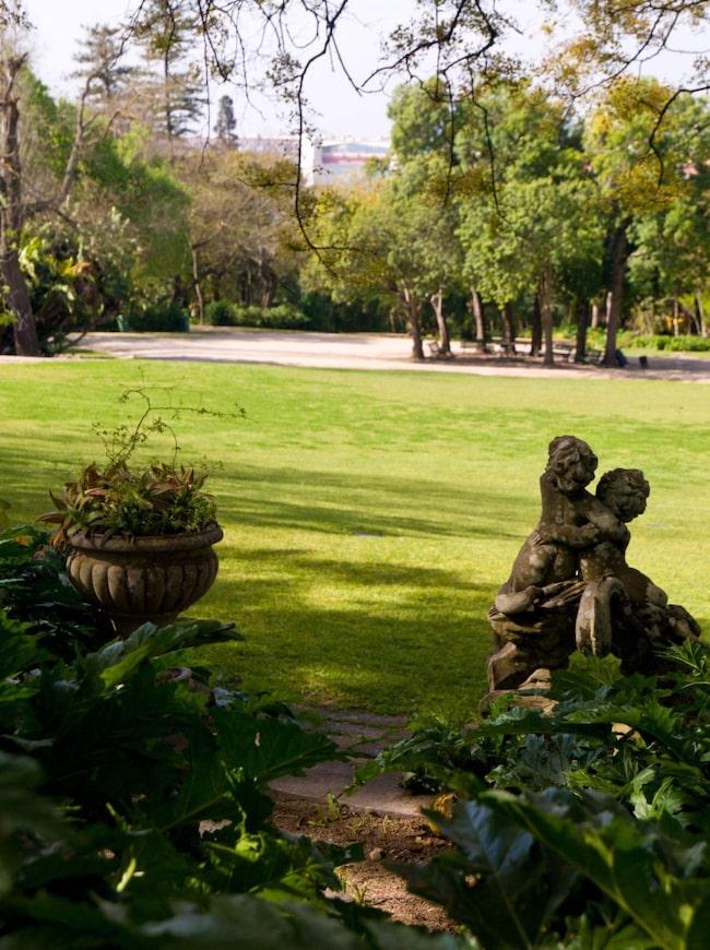 <span>Tapada das Necessidades är en före detta klosterträdgård.</span>