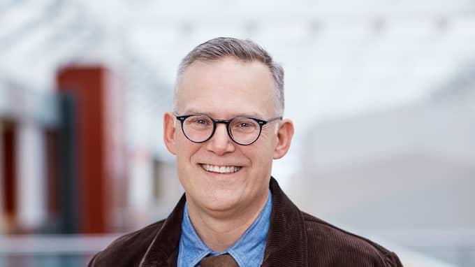 Postnords kommunikationsdirektör, Thomas Backteman. Foto: Postnord