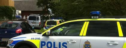 En person hittades död utanför Viken på midsommarafton. Foto: Lars Klint
