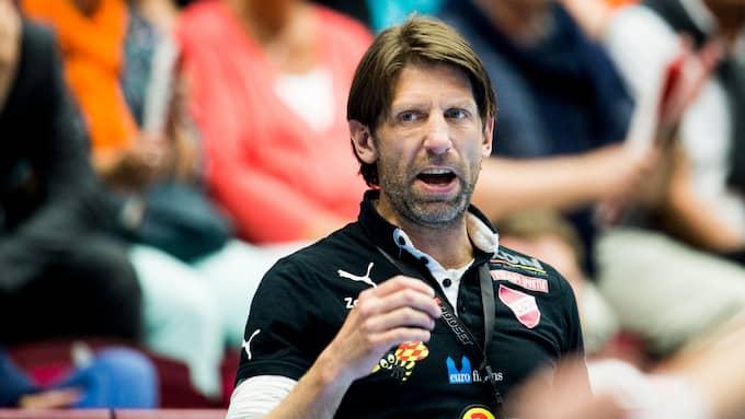 Tomas Axnér, tränare i Lugi. Foto: PETTER ARVIDSON / BILDBYRÅN