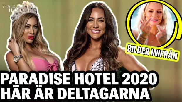 Q&A: Paradise hotel 2020 - här är årets deltagare
