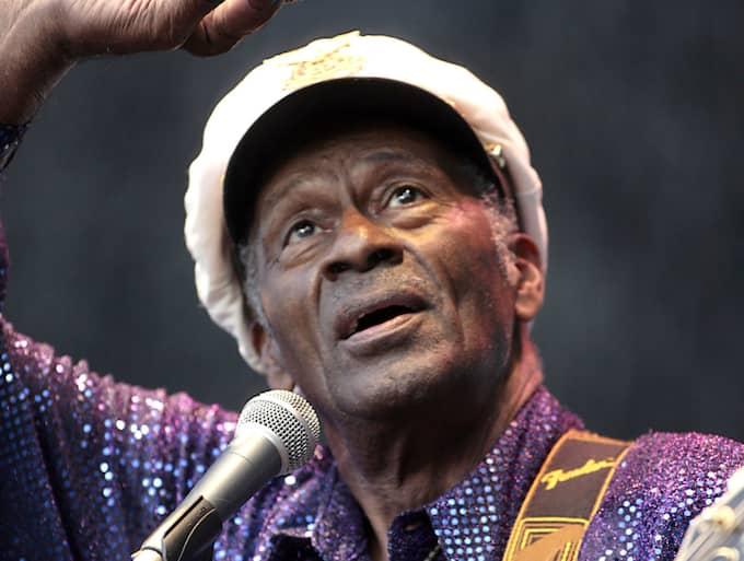 Chuck Berry blev 90 år gammal. Foto: Ronny Johannesson