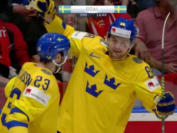 Höjdpunkter: Sverige-Schweiz