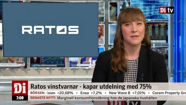 Morgonkoll: Ratos vinstvarnar och föreslår sänkt utdelning