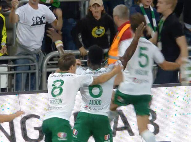 Hammarbys Aidoo gör 1-0 mot Örebro