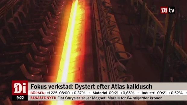 Fokus verkstad: Dystert efter Atlas kalldusch