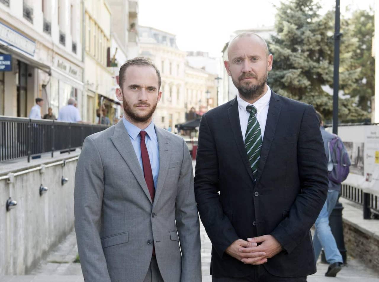 Tomas Kvarnkullen och Sven Lindwall