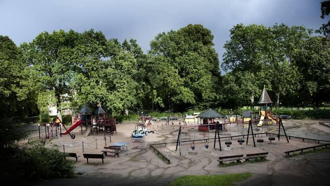 Misshandeln ägde rum i närheten av Plikta lekpark i Slottskogen. OBS bilden är tagen 2010. Foto: ANNA-KARIN NILSSON