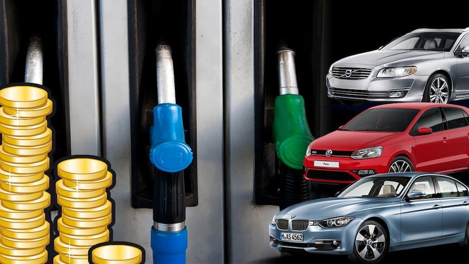Circle K, OKQ8 och övriga bensinjättar höjde bensinpriset på fredagsförmiddagen.Tidigare