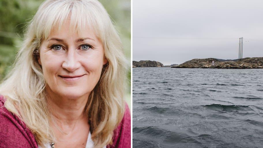 Eva Sanner, 59, bor i Svenshögen en dryg mil utanför