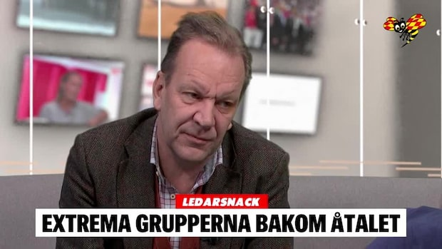 LEDARSNACK: Extrema grupperna bakom åtalet mot Ann-Sofie Hermansson