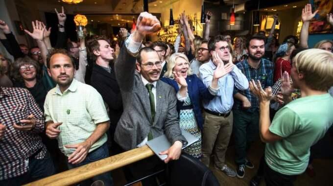 Max Andersson (MP) tar sista mandatet till EU-parlamentet. Foto: Anders Ylander
