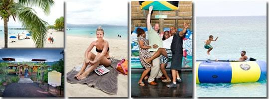 Stränder och party på Jamaica.