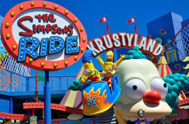 Barnens favorit, Universal Studios.
