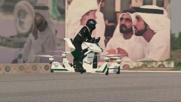 Framtiden är här! Nu kommer poliserna i Dubai flyga fram