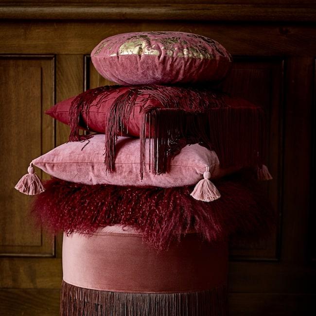 Ska man välja en färg i höst är det rosa som gäller.