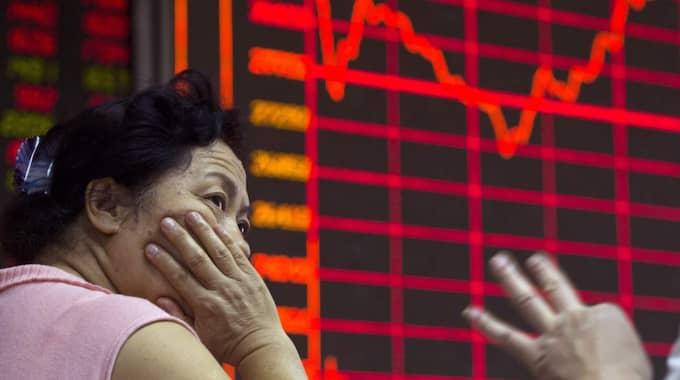 Det sker redan första handelsdagen efter att nya säkerhetsmekanismer infördes vid årsskiftet. Foto: Ng Han Guan
