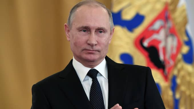 Putin ska själv ha godkänt det nya beväpningsprogrammet. Foto: KIRILL KUDRYAVTSEV / AP TT NYHETSBYRÅN