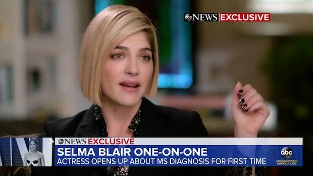 Selma Blair talar ut om sin kamp mot sjukdomen
