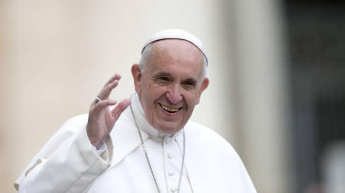 Enligt katolska kyrkan i Stockholm kommer närmare 250 pilgrimer från Sverige att vallfärda till Rom för att delta vid helgonförklarandet, som leds av påve Franciskus. Foto: Alessandra Tarantino/TT