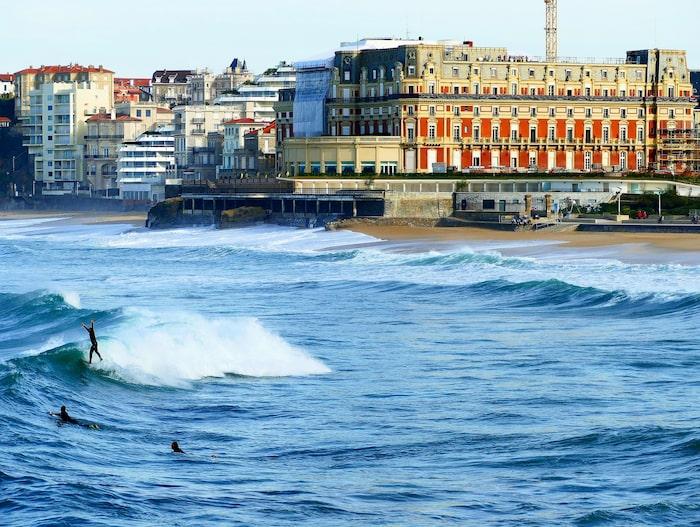 Skånska staden är ett alternativ till franska Biarritz.