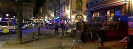 Storbråk i Gamla stan – bord och stolar har kastats