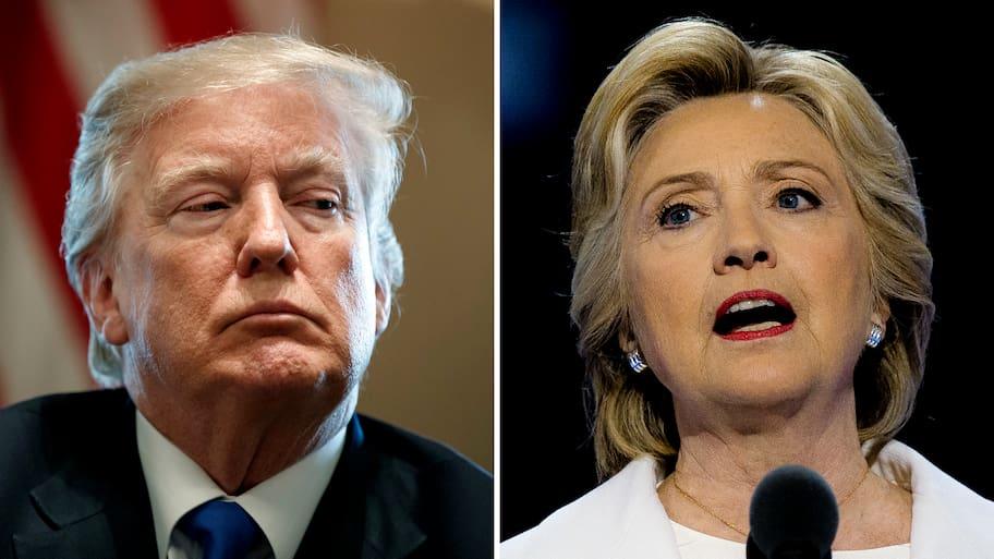 """Clinton om Trumps uttalande om Haiti: """"Han är rasist"""""""