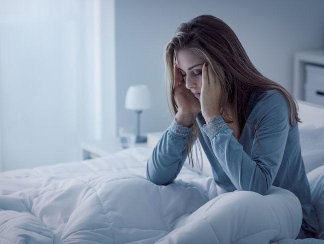 sömnproblem klimakteriet