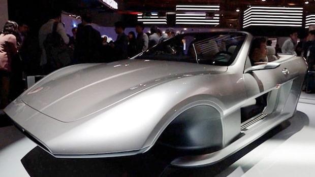 Framtidens bilar visas på CES