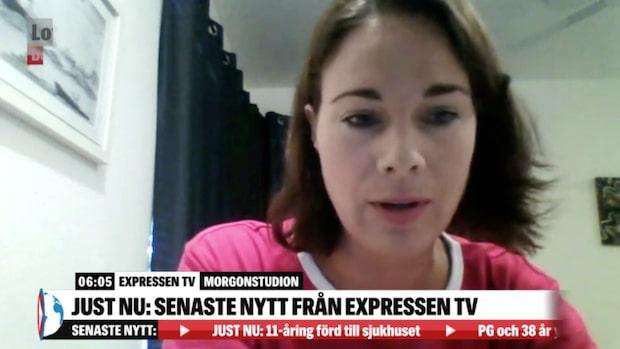 Svenska Lotta Lindgren i cyklonens Australien