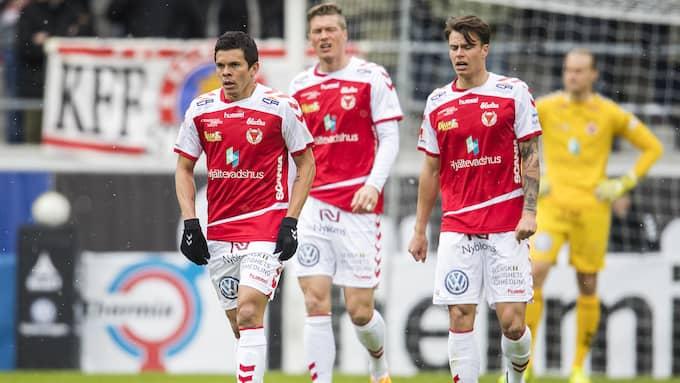 Kalmar FF har fått en tung start på allsvenskan. På torsdag krävde klubbens ordförande Mattias Rosenlund bättring framöver. Foto: SUVAD MRKONJIC