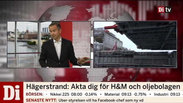 """Hägerstrand: """"Ingen lugn semester med oljeaktier"""""""