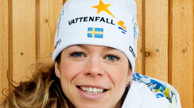 """""""Det är för tidigt att vara nöjda"""", skriver förre landslagsåkaren Maria Rydqvist. Foto: NILS JAKOBSSON / BILDBYRÅN"""