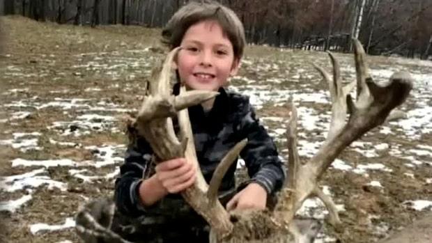 """7-åring sköt råbock – pappan: """"Fantastiskt"""""""