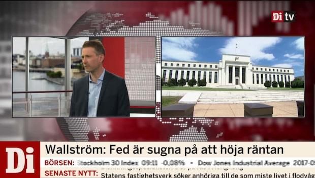 Wallström: Fed är sugna på att höja räntan