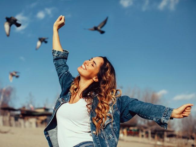 Sju sätt som gör det lättare för dig att börja tänka positivt.
