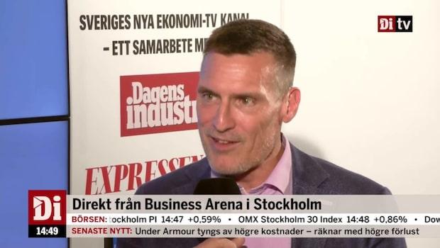 Benny Thögersen, vd Catena Fastigheter, om automationen i dagligvaruhandeln