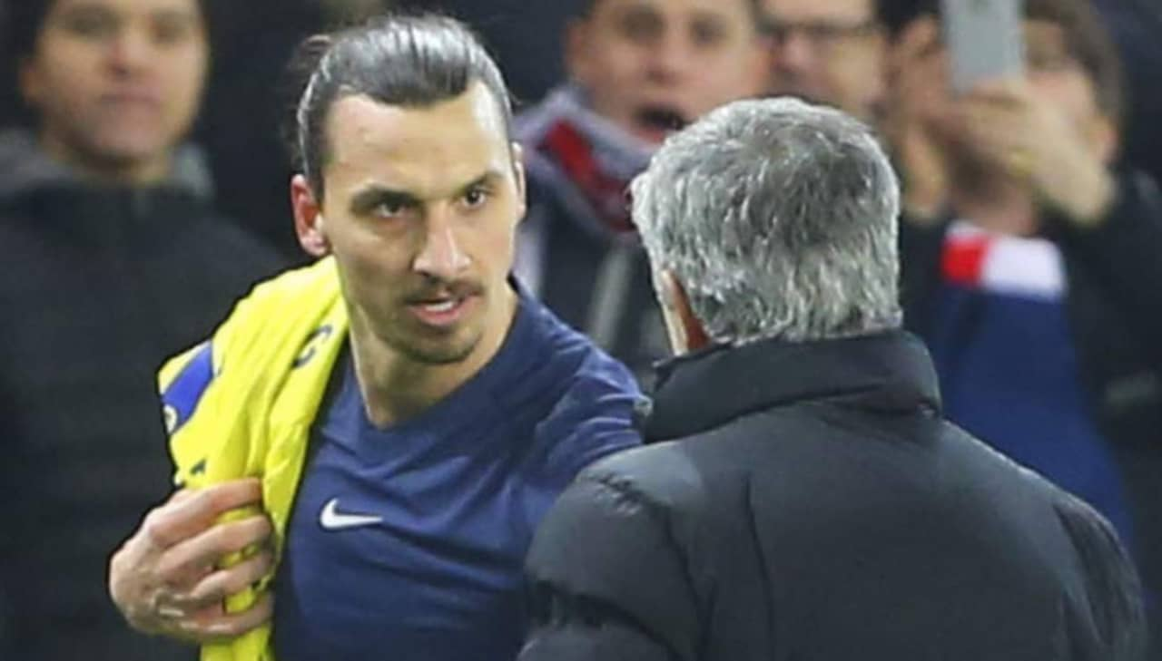 Mourinho zlatan far en kram av mig