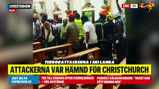 Attackerna i Sri Lanka var en hämnd för dåden i Christchurch