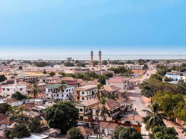Banjul, Gambias huvudstad.