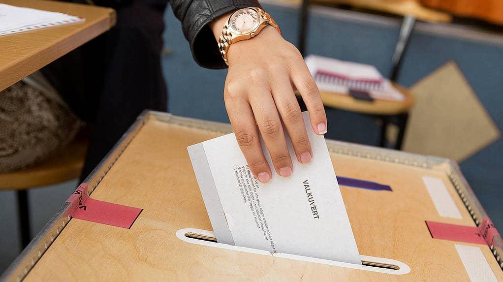 Tryckfel på flera miljoner röstkort