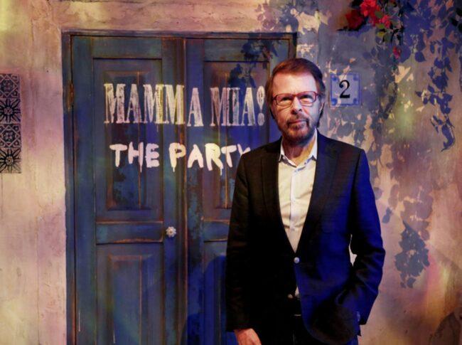 """<span>Björn Ulvaeus har varit med i projektet """"Mamma Mia: The Party"""".</span>"""