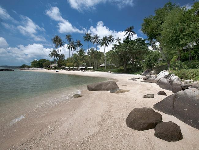 På Koh Samui finns många stränder för den som vill vara för sig själv en stund.