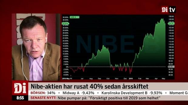 """Di:s analytiker om Nibe """"Inte riktigt lika bra som de brukar"""""""