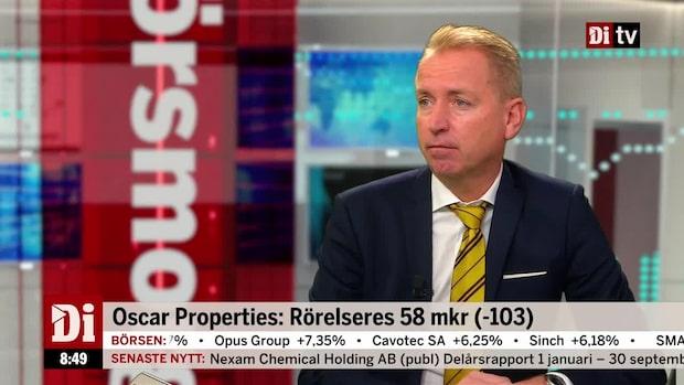 Oscar Properties: Endast en lägenhet bokades