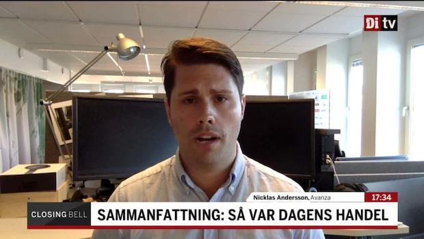 """Andersson: """"Det var en skön återhämtning"""""""