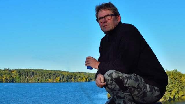 Bruno Bach letar upp övergivna platser i Sverige. Foto: / Bruno Bach