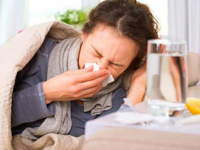 Influensan närmar sig Sverige och ett stort antal svenskar kommer drabbas.