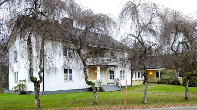 Asylboendet i den lilla byn Grännaforsa utanför Alvesta.