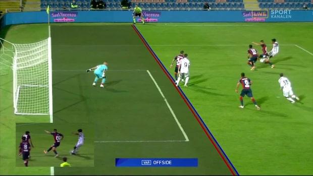 Juventus kryssade mot bottenlaget – fick segermålet bortdömt